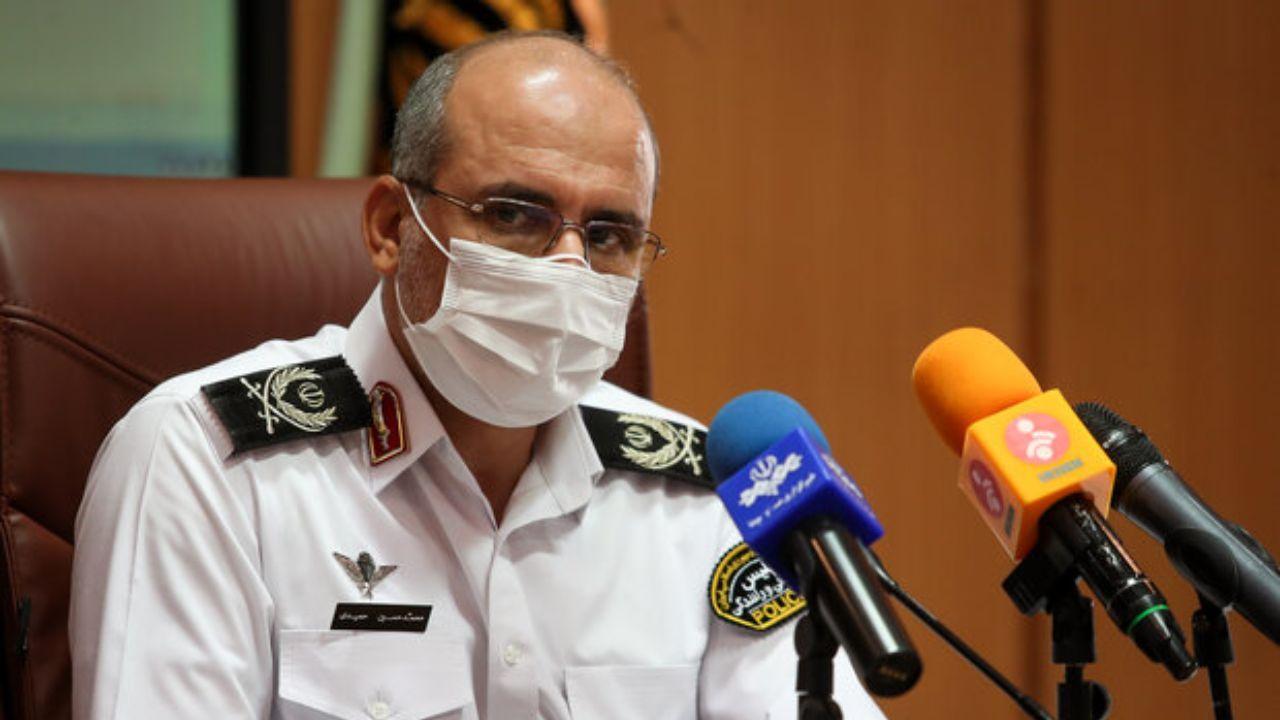 پلیس: افزایش تصادف و زخمی ها به دلیل قطع برق